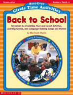 Best-Ever Circle-Time Activities: Back to School