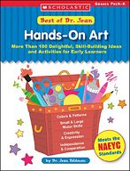 Best of Dr. Jean: Hands-On Art (Enhanced eBook)