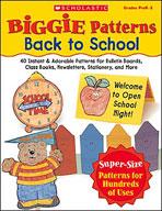 Biggie Patterns: Back to School (Enhanced eBook)
