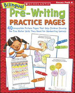 Bilingual Pre-Writing Practice Pages
