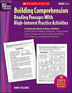 Building Comprehension: Reading Passages With High-Interest Practice Activities (Enhanced eBook)