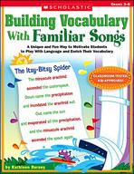 Building Vocabulary With Familiar Songs (Enhanced eBook)