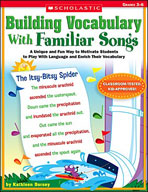 Building Vocabulary With Familiar Songs (Enhanced eBook)