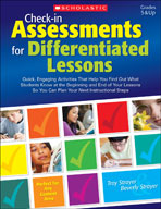 Check-in Assessments for Differentiated Lessons (Enhanced eBook)