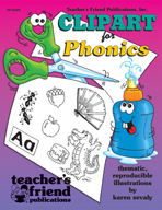 Clip Art for Phonics (Enhanced eBook)