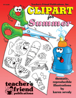 Clip Art for Summer (Enhanced eBook)