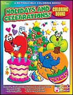 Coloring Book: Holidays and Celebrations (Enhanced eBook)
