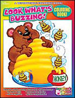 Coloring Book: Look What's Buzzing