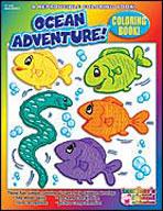 Coloring Book: Ocean Adventures