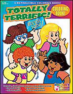 Coloring Book: Totally Terrific
