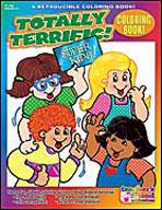 Coloring Book: Totally Terrific (Enhanced eBook)