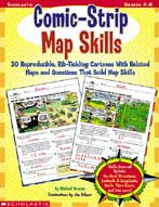 Comic-Strip Map Skills (Enhanced eBook)