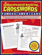 Comprehension-Boosting Crosswords: Famous Americans (Enhanced eBook)