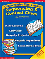 Comprehension Mini-Lessons: Sequencing and Context Clues (Enhanced eBook)