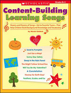 Content-Building Learning Songs (Enhanced eBook)