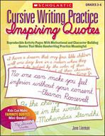 Cursive Writing Practice: Inspiring Quotes (Enhanced eBook)