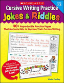 Cursive Writing Practice: Jokes and Riddles (Enhanced eBook)