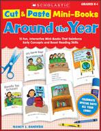 Cut and Paste Mini-Books: Around the Year (Enhanced eBook)
