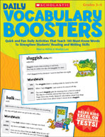 Daily Vocabulary Boosters