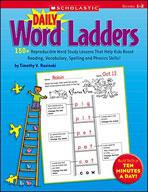 Daily Word Ladders: Grades 1-2 (Enhanced eBook)