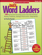Daily Word Ladders: Grades 4-6 (Enhanced eBook)