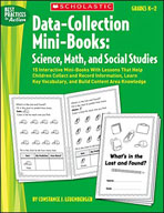 Data-Collection Mini-Books: Science, Math, and Social Studies (Enhanced eBook)