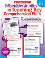 Differentiated Activities for Teaching Key Comprehension S