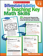 Differentiated Activities for Teaching Key Math Skills: Grades 2-3 (Enhanced eBook)