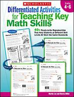 Differentiated Activities for Teaching Key Math Skills: Grades 4-6 (Enhanced eBook)