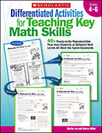 Differentiated Activities for Teaching Key Math Skills: Grades 4-6 (Enhanced eBook)