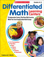 Differentiated Math Learning Centers