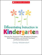 Differentiating Instruction in Kindergarten (Enhanced eBook)