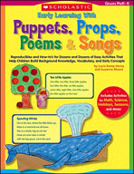 Early Learning With Puppets, Props, Poems & Songs (Enhance