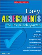 Easy Assessments for Pre-Kindergarten (Enhanced eBook)