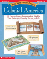 Easy Make & Learn Projects: Colonial America (Enhanced eBook)