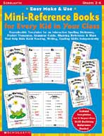 Easy Make & Use Mini-Reference Books For Every Kid in Your Class (Enhanced eBook)