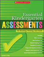 Essential Kindergarten Assessments for Reading, Writing, and Math (Enhanced eBook)