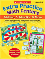 Extra Practice Math Centers: Addition, Subtraction & More (Enhanced eBook)