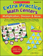 Extra Practice Math Centers: Multiplication, Division & Mo