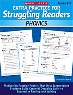 Extra Practice for Struggling Readers: Phonics (Enhanced eBook)