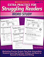 Extra Practice for Struggling Readers: Word Study (Enhance