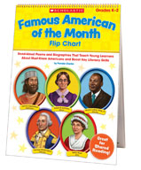 Famous American of the Month Flip Chart