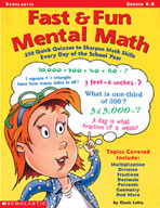 Fast & Fun Mental Math (Enhanced eBook)