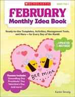 February Monthly Idea Book (Enhanced eBook)