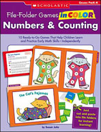 File-Folder Games in Color: Numbers and Counting (Enhanced eBook)