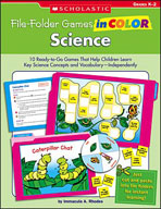 File-Folder Games in Color: Science (Enhanced eBook)