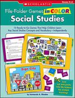 File-Folder Games in Color: Social Studies (Enhanced eBook)