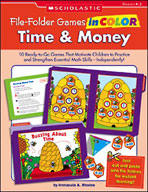 File-Folder Games in Color: Time and Money (Enhanced eBook)