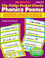 File-Folder Pocket Charts: Phonics Poems