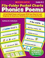 File-Folder Pocket Charts: Phonics Poems (Enhanced eBook)